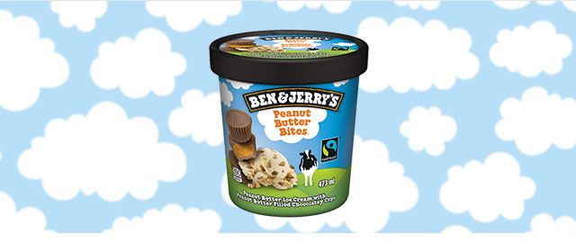 At Walmart: Ben & Jerry's Peanut Butter Bites coupon
