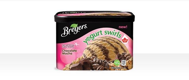 Breyer's® Yogurt Swirls Chocolate Mocha Frozen Yogurt coupon