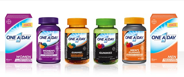One A Day® Multivitamin Gummies and Tablets coupon