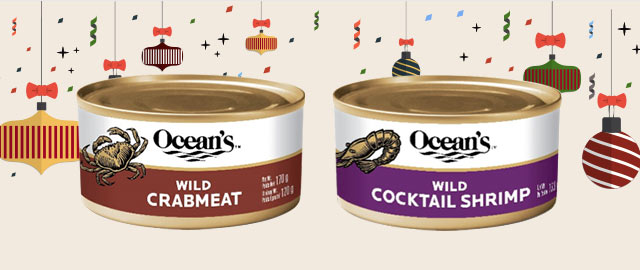 Buy 2: Ocean's Wild Crabmeat or Ocean's Wild Cocktail Shrimp  coupon