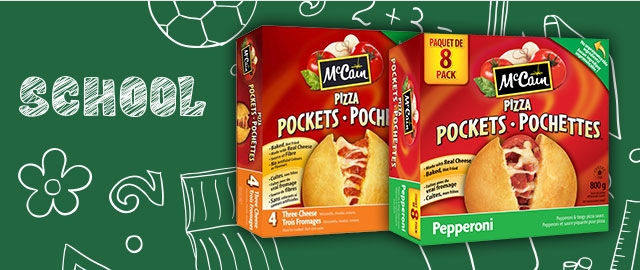 McCain® Pizza Pockets® snacks coupon
