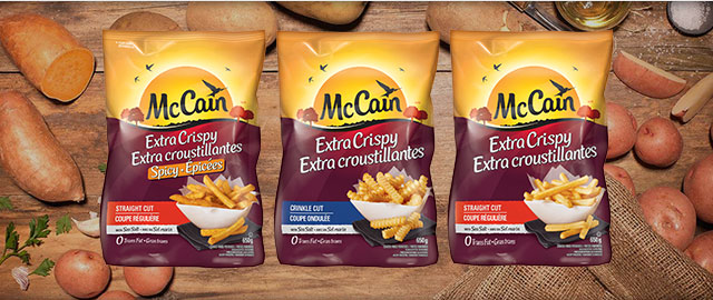 McCain® Extra Crispy Potato Products coupon