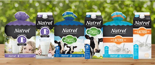 Buy 2: Natrel 2L or 4L Milk coupon