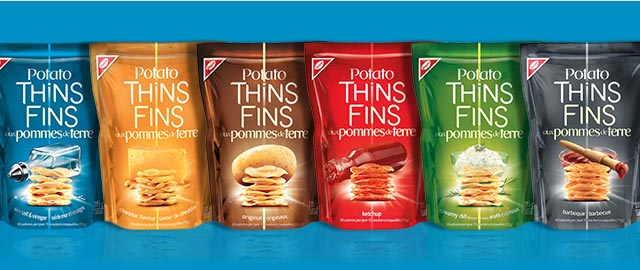 Buy 2: POTATO THINS Cracker Chips coupon
