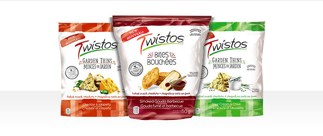 Twistos® Baked Snack Crackers coupon
