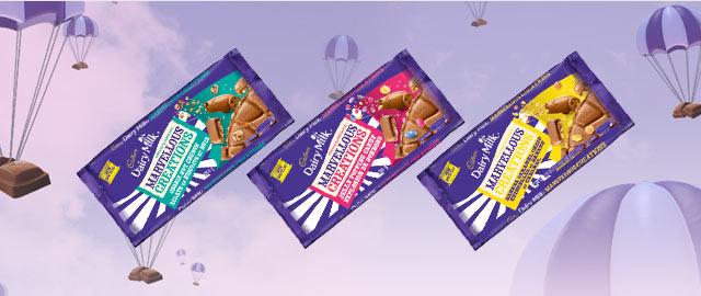 Buy 2: Cadbury® Dairy Milk Marvellous Creations Sharing Bars coupon