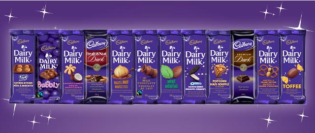 Buy 2: Cadbury® Dairy Milk Chocolate Bars coupon