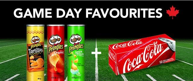 At Walmart Combo: Buy 3 Pringles + Coca-Cola 12pk products coupon