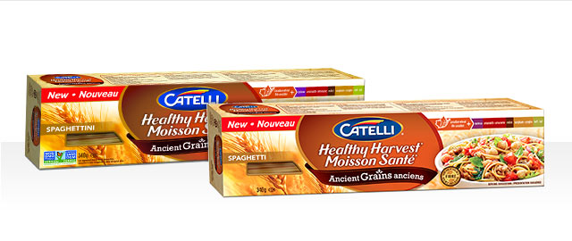 Buy 2: Catelli® Healthy Harvest® Ancient Grains Spaghetti or Spaghettini coupon
