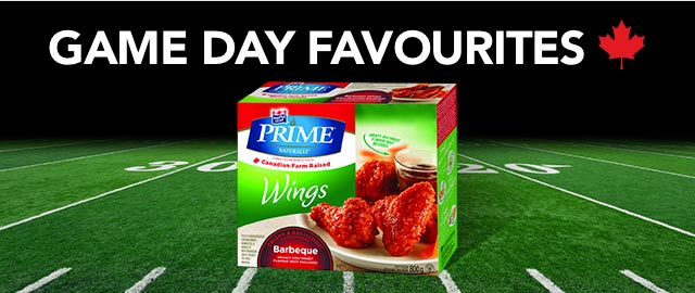 Maple Leaf® Prime® Chicken Wings coupon