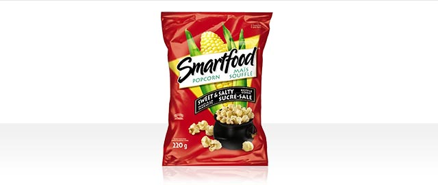 Smartfood® Sweet & Salty Flavour Kettle Corn Popcorn coupon