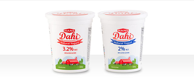 Hans Dairy Natural yogurt coupon
