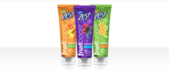 At Walmart: Zest® Fruitboost Shower Gel coupon