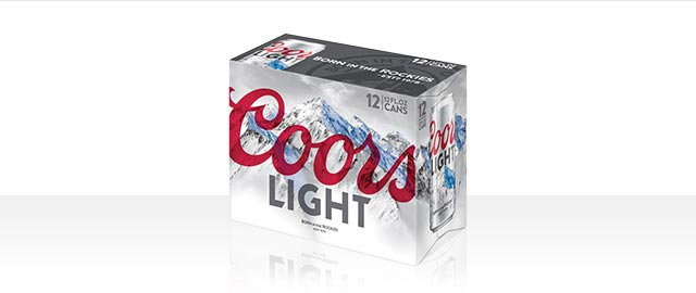 Coors Light 12-pack or larger coupon