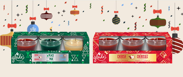 Select Glade® Candle 3-pack coupon
