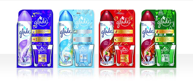 Glade® Aerosol and Jar Candle pack  coupon
