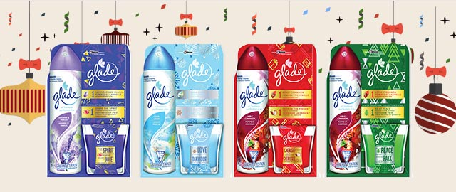 Select Glade® Aerosol and Jar Candle pack  coupon