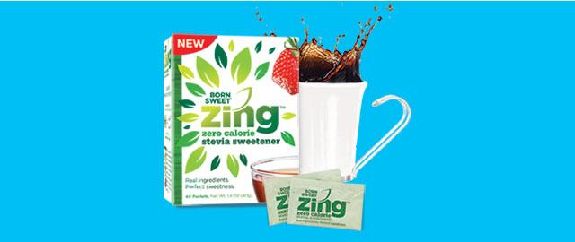 At Walmart: Born Sweet® Zing™ Zero Calorie Stevia Sweetener  coupon