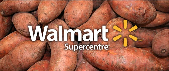 At Walmart: Sweet Potatoes coupon
