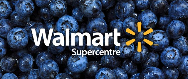 At Walmart: Blueberries coupon