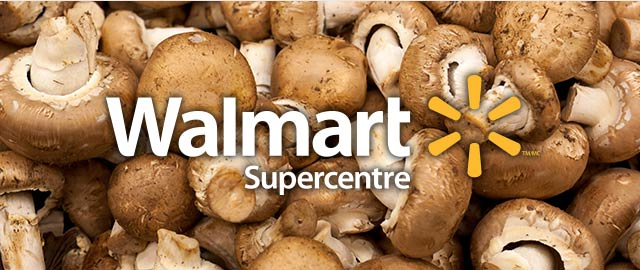At Walmart: Mushrooms coupon