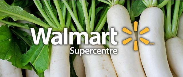 At Walmart: Radishes  coupon