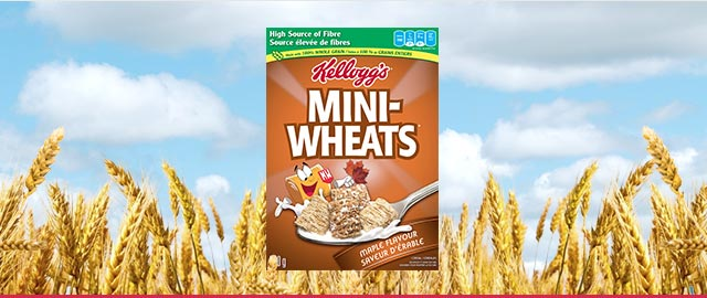 Kellogg's Mini-Wheats* Maple Flavour coupon