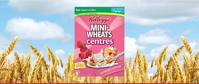 Kellogg's Mini-Wheats* Raspberry Centres Flavour coupon
