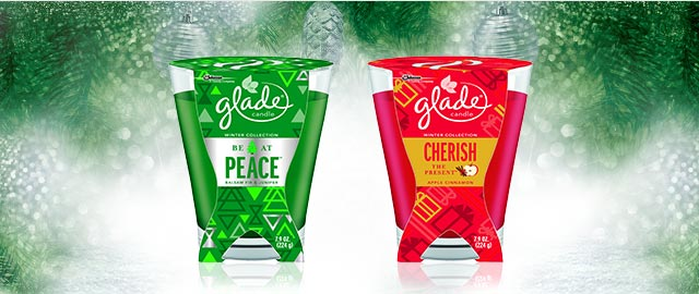 Glade® Large Jar Candle coupon