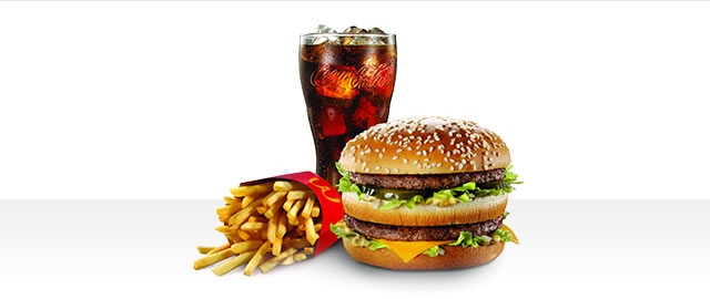 At McDonald's® in Walmart: Extra Value Meal Big Mac® coupon