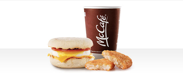 At McDonald's® in Walmart: Egg McMuffin® Extra Value Meal coupon