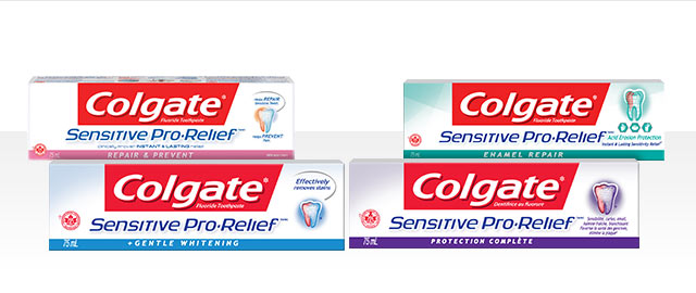 Colgate Sensitive Pro-Relief toothpaste coupon