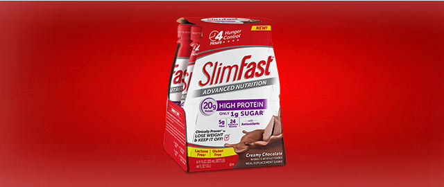 SlimFast® Advanced Nutrition Meal Replacement Shake coupon