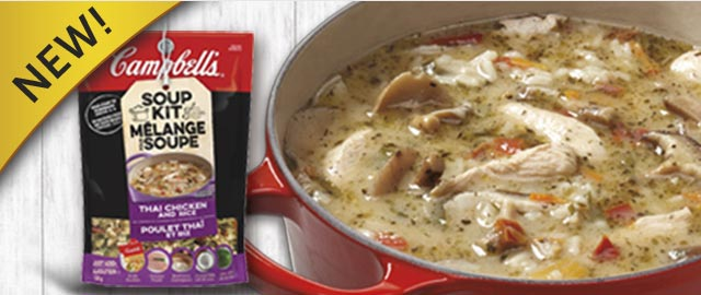 Campbell's® Thai Chicken and Rice Soup Kit coupon