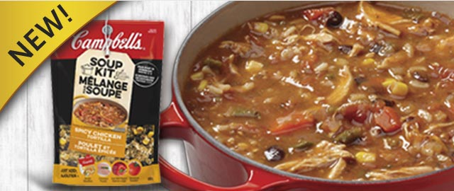 Campbell's® Spicy Chicken Tortilla Soup Kit coupon