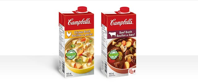 Buy 2: Campbell's® Broths coupon