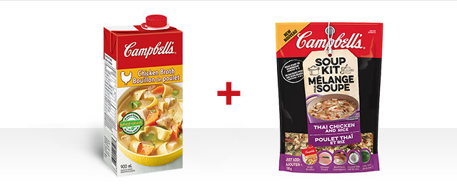 COMBO: Campbell's® Broth + Campbell's® Soup Kit coupon