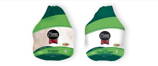 At Select Retailers: Empire Kosher Whole Turkey  coupon