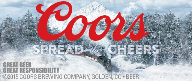 Coors Light Ad Row coupon