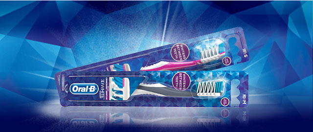 Oral-B® 3D White Manual Toothbrush coupon