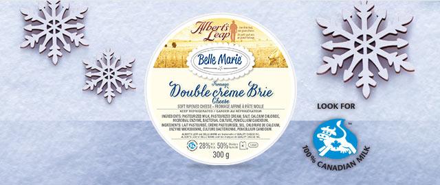 Belle Marie Double crème Brie  coupon