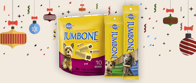 PEDIGREE® JUMBONE® Long-Lasting Dog Chews coupon