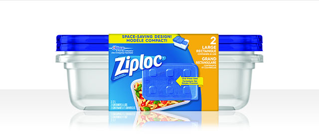 Buy 2: Ziploc® Containers  coupon