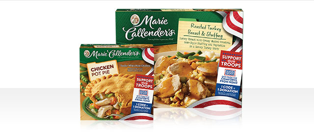 Buy 3: Marie Callender's® Single Serve Meals  coupon