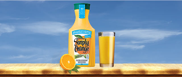 Simply Orange® with Coconut Water  coupon
