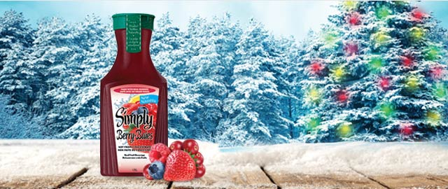 Simply Berry™ Real Fruit Beverage coupon