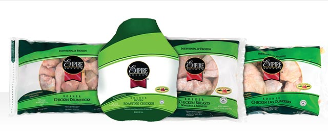 At Select Retailers: Empire Kosher Frozen Chicken coupon