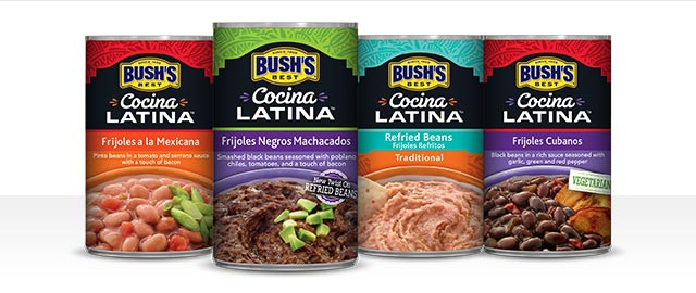 Buy 2: BUSH'S Cocina Latina® products coupon