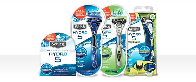 Schick® Hydro® 5 razors or refills coupon