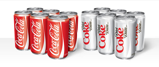 Buy 2: Coca-Cola® 6-pack mini-cans coupon